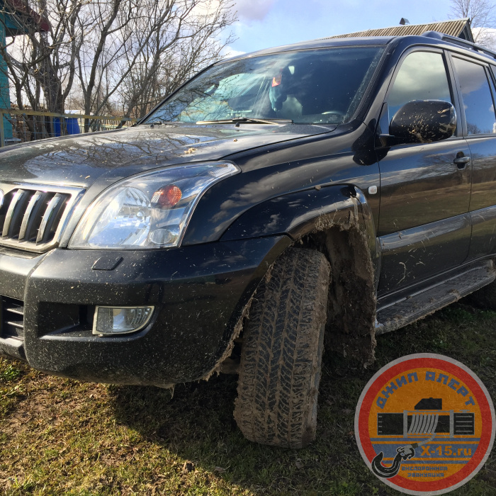 Toyota Land Cruiser Prado 120 Москва